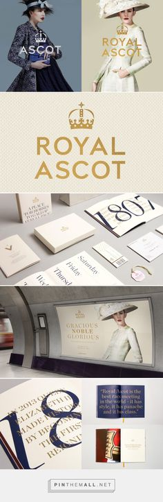 Brand New: New Logo and Identity for Ascot by The Clearing... - a grouped images picture - Pin Them All