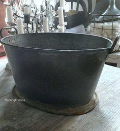 FleaingFrance.....French copper & zinc wine bucket