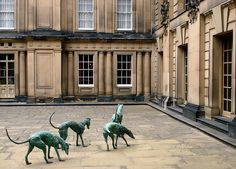 Courtyard Dogs -Chatsworth
