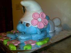 Cake Decorating | Cake Decorating Ideas | Project on Craftsy: Smurf Cake