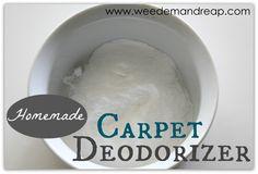 Weed 'em and Reap: Homemade Carpet Deodorizer