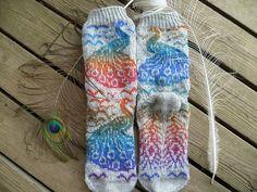Ravelry: påfågel/ peacock bird pattern by Ingela Larsson