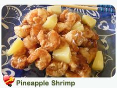 Pineapple Shrimp - ILoveHawaiianFoodRecipes