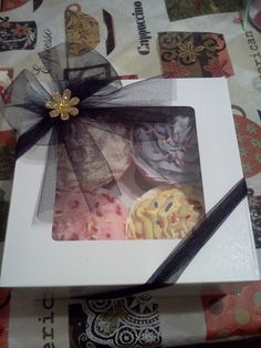Cupcake Bath Bomb Gift Box by LillysSoapKitchen on Etsy