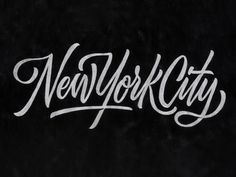 NYC Brush Script by Scott Biersack | Dribbble