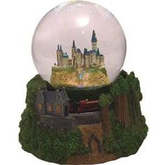 Harry Potter And The Order Of The Phoenix: Hogwarts Express And Castle Snowglobe