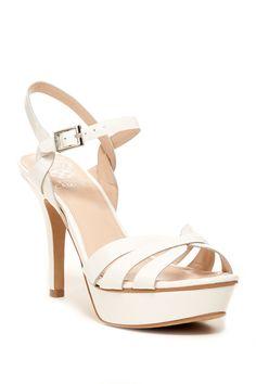 Peppa Platform Sandal by Vince Camuto on @nordstrom_rack Flat Sandals, Flats, Beautiful Shoes, Vince Camuto, Designer Shoes, High Heels, Footwear, Nordstrom Rack, Women's Shoes