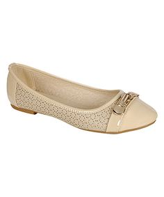 This Beige Ginny I Flat by Pinky is perfect! #zulilyfinds