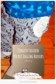 Nähanleitung Eingrifftaschen für die Mamahoch2 Jogging Rockers