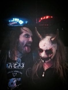 StitchWitchDolls with Alvaro in 2012 at a Watain show... Can't wait to see them play again in January 2015 ....