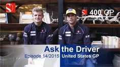 Fans ask, our drivers answer their questions. Enjoy our video from Austin, Texas - Video Team, F1 Season, F1 Racing, Formula One, Austin Texas, Image Collection, Grand Prix, Chef Jackets, Fans