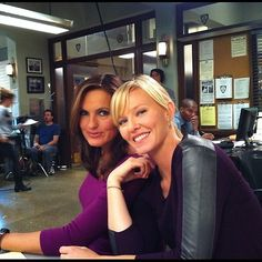 My new favourite svu pairing. I haven't really accepted that Elliot is gone until recently, but the more I watch, the more I fall in love with Liv and Amanda's new friendship!