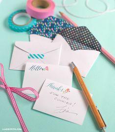 Free Printable: mini envelopes and cards