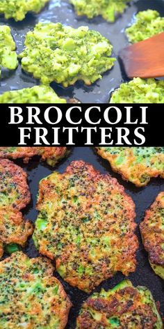 These light golden-brown Broccoli Fritters make a delicious vegetarian dinner or lunch and kids love them too Ready in less than 30 minutes fritters broccoli kidfriendly lunch snack vegetarian easyrecipe healthyrecipe recipeoftheday Baby Food Recipes, Healthy Dinner Recipes, Cooking Recipes, Keto Recipes, Crockpot Recipes, Easy Recipes, Free Recipes, Healthy Appetizers, Kids Dinner Ideas Healthy