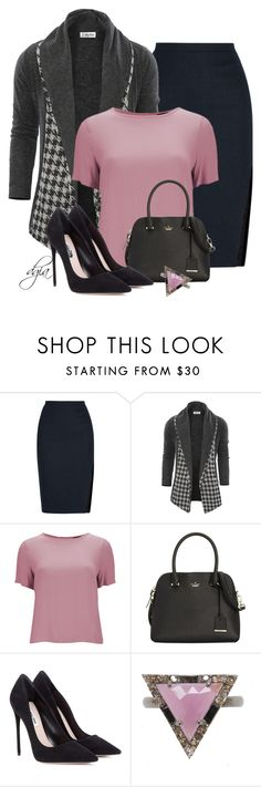 """""""Styling a  mens cardigan"""" by dgia ❤ liked on Polyvore featuring Altuzarra, VILA, Kate Spade and Miu Miu"""