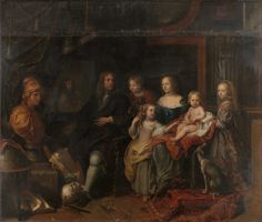 In this blog post, Keith Christiansen, John Pope-Hennessy Chairman of the Department of European Paintings, introduces Charles Le Brun's monumental portrait of Everhard Jabach and his family. | Charles Le Brun (French, 1619–1690). Everhard Jabach (1618–1695) and His Family, ca. 1660. The Metropolitan Museum of Art, New York. Purchase, Mrs. Charles Wrightsman Gift, 2014 (2014.250) #paris