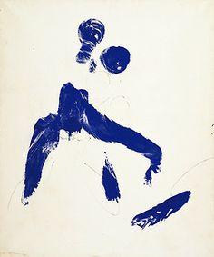 yves klein, monique (ANT 57) ca 1960