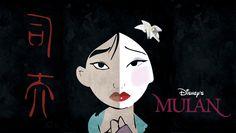 Mulan by Alba Del Castillo, via Behance