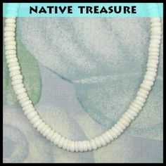0a05b9259f1762 Native Treasure - Real Puka Shell Necklace or Bracelet- 8mm (5/16