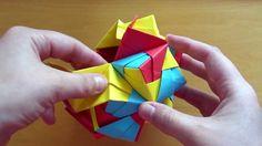 Origami Small Triambic Icosahedron (Sonobe)