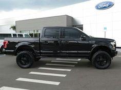 2015 ford f150 custom sport all black lifted