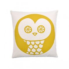 Coussin Owl - chez My Little Square - 27,50€