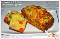 Mini cakes à la Polenta et aux Petits Légumes – La Cuisine des Anges