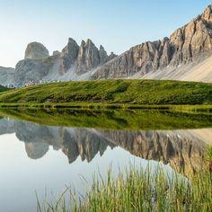 Stunning, reflective landscape