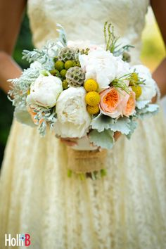 this is the look that we were going for with the bridesmaid bouquets.  almost a wildflower feel to it.