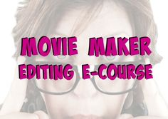 Movie Maker Editing E-Course DRISKOTECH-Helping direct sellers & small business owners create video awesomeness for their businesses!