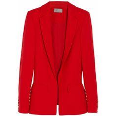 Preen by Thornton Bregazzi Ara wool-crepe blazer found on Polyvore