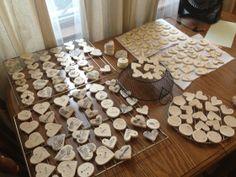 Salt Dough Ornaments