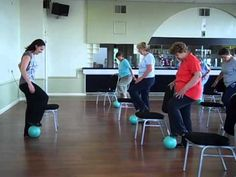Seated Seniors Exercise Class Clip Hockley Essex - YouTube