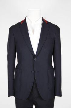 Jacket Red Collar