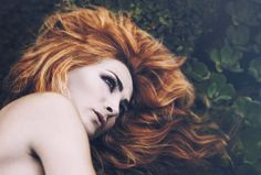 Ghostly | Dario Toledo #fashionphotography #redhead #beauty