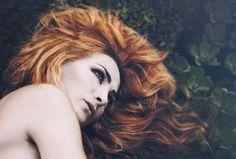 Ghostly | Dario Toledo #fashionphotography #redhead #beauty