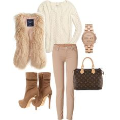 Neutral Winter Fashion Outfit