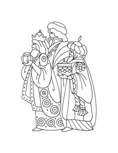 three kings coloring page caspar melchior and balthasar coloring page