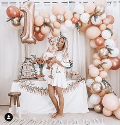 Birthday Decorations Discover Rose Gold Balloon Garland Kit // Rose Gold Balloon Arch / First Birthday Balloon Arch /Wedding Backdrop/Party Decoration/ Blush/ Rose Gold First Birthday Balloons, 1st Birthday Party For Girls, 1st Birthday Girl Decorations, 1 Year Birthday, Elegant Birthday Party, Baby Birthday Themes, 1st Birthday Photoshoot, First Birthday Outfit Girl, Birthday Garland