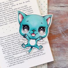 Inspired by Happy  limited edition bookmark by ribonitachocolat