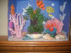 ocean diorama!