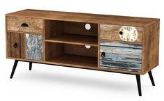 Alternatywna szafka RTV Dizo Office Table, Credenza, Bedroom Furniture, Cabinet, Storage, Tv Tables, Home Decor, Products, Wood