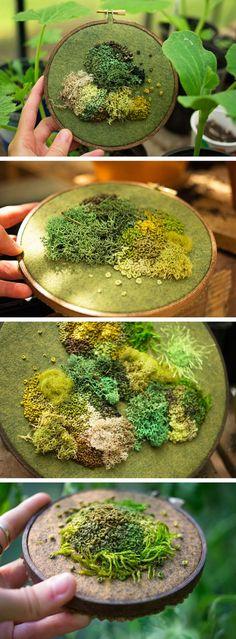 Intricate Moss Assem