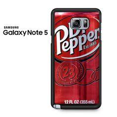 Dr Pepper Samsung Galaxy Note 5 Case