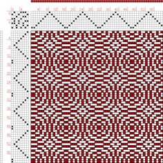Hand Weaving Draft: Page 216, Figure 21, Donat, Franz Large Book of Textile Patterns, 8S, 8T Max float 4 - Handweaving.net Hand Weaving and Draft Archiv...