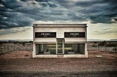 There's A Prada Store In The Middle Of The Texas Desert #Prada #Fashion #Texas