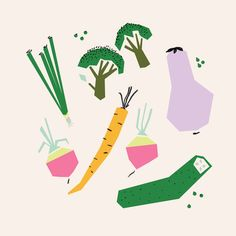 GRAPHICS EXAMPLES Fruits and Veggies - Emily Isabella