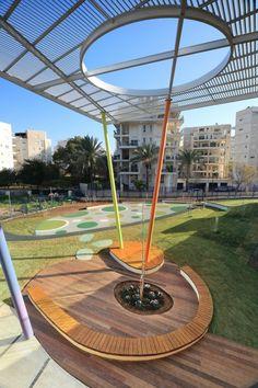 Rakafot School's Grounds / BO-Landscape Architects