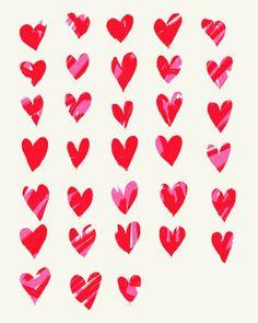 Hearts and hearts and hearts.
