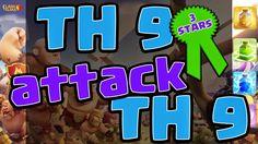 Clash of Clans TH 9 Attack TH 9 3 Stars Clan War   Y Channel : https://www.youtube.com/channel/UC2SiB2IYhPOqAZZIeB4BNmQ